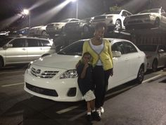 Ardmore Toyota congratulates Naimah on her new 2013 Toyota Corolla on behalf of Salesperson Q Azad! Thank you for coming to Ardmore Toyota. Enjoy your new Corolla!