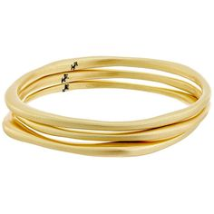 Karen Kane New Moon Stack Bangles Bracelet (Gold) Bracelet ($47) ❤ liked on Polyvore featuring jewelry, bracelets, accessories, gold bracelet bangle, star jewelry, gold tone jewelry, stacked bangles and gold bracelets bangles
