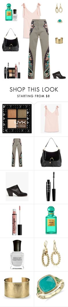"""I Like To Let Things Breathe"" by sereneowl ❤ liked on Polyvore featuring NYX, See by Chloé, Jeffrey Campbell, Tom Ford, Deborah Lippmann and Blue Nile"
