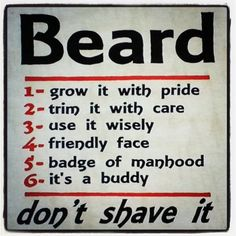 Rules of the Beard