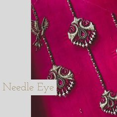 Every work that pass through our frame is an iconic embroidery with a traditional modern & state-of-art is delineation. Bridal Blouse Designs, Blouse Neck Designs, Blouse Patterns, Sleeve Designs, Dress Designs, Zardosi Embroidery, Beaded Embroidery, Hand Embroidery, Mirror Blouse Design