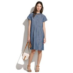 Chimala® Chambray Farmer's Dress    Sadly, I think I must have this very expensive dress