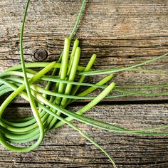 When June rolls around I eagerly and impatiently await the arrival of delicious garlic scapes in our Quebec farmer's markets.