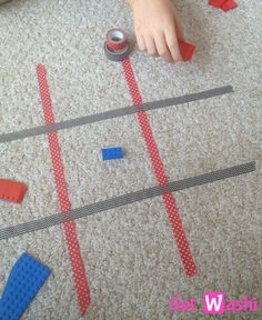 Play Floor Games Using Washi Tape – GetWashi.com