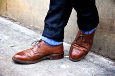 Want to know how to choose shoes to wear with your jeans? Check out this post from Keen on Kicks on jeans and brogues.