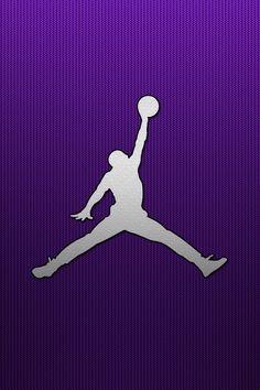 Purple Jordan Wallpaper Background