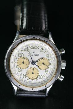 Hamilton 24 hour Chronograph. Lancaster Pennsylvania U.S.A.