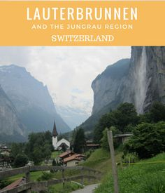 Lauterbrunnen and the Jungfrau region, Things to Do