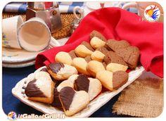 Biscotti di San Valentino di pasta sablée