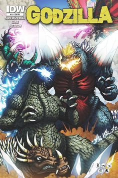 The Godzilla comics ultimate set collection 1 dvd Monster Punch, Godzilla Comics, Japanese Monster, Cool Monsters, Creature Feature, Pacific Rim, King Kong, Comic Covers, Digimon