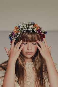 41 Whimsical Flower Crown Ideas for Your Wedding Hairstyle Flower Girl Hairstyles Crown flower hairstyle ideas Wedding Whimsical Flower Crown Bride, Floral Crown Wedding, Flower Crown Hairstyle, Bride Flowers, Flower Girl Hairstyles, Wedding Hair Flowers, Crown Hairstyles, Flowers In Hair, Wedding Hairstyles