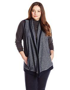 Fashion Bug Womens Plus Size Shawl Collar Jacket www.fashionbug.us #PlusSize #FashionBug #Sweaters