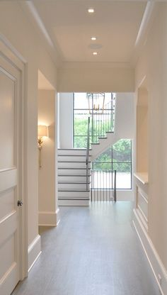 Staircase Architecture by Spitzmiller & Norris by Spitzmiller an Staircase Architecture, Staircase Design, Architecture Design, Staircases, Style At Home, House Goals, Home Renovation, Home Fashion, My Dream Home