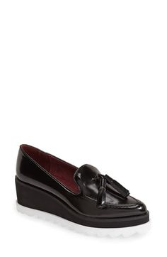 SIXTYSEVEN 'Harlow' Wedge Loafer (Women) available at #Nordstrom