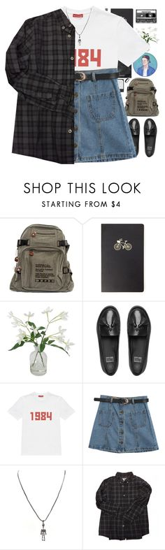"""""""*ALT ER LOVE*"""" by my-black-wings ❤ liked on Polyvore featuring Forever 21, Threshold, FitFlop, Gosha Rubchinskiy, Chicnova Fashion, Wildfox, Bonpoint and CASSETTE"""