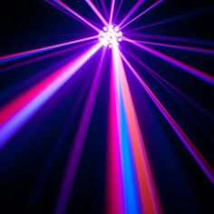 ADJ Vertigo HEX LED: easy to set-up and use as it's 60 sound activated reactions move to the sound of music. #adj #vertigohexled #vertigo #mobiledjlighting #oldschoolmeetsnewschool #lighting #ledlighting