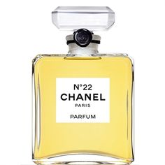 Chanel No.22 -The perfect, classical, silky fragrance of this perfume is composed of gorgeous jasmine, orange blossom, fresh green notes of lilac and sweet rose. Aldehydes, bergamot, neroli and peach are in the top notes, while the base is woodsy and musky.