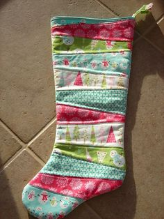Trying to come up with a cute pattern to make stockings this year!  Need a mix of funky and traditional...hmmmm...
