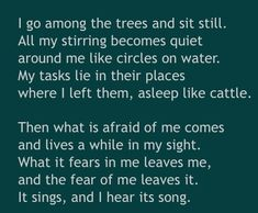 ~ Wendell Berry ~