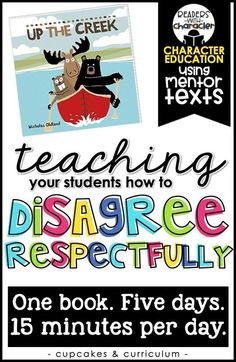 Disagreeing Respectfully Character Education Social Emotional Learning SEL is part of Social emotional learning - Emoti Character Education Lessons, Social Skills Lessons, Teaching Character, Social Skills Activities, Teaching Social Skills, Social Emotional Learning, Student Teaching, Life Skills, Coping Skills