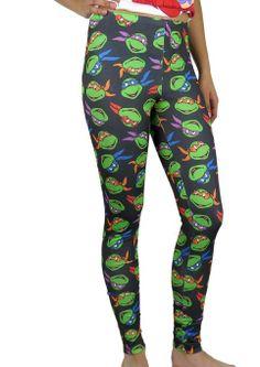 Teenage Mutant Ninja Turtles TMNT Leggings