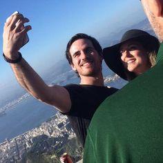 Colin O'Donoghue & Helen O'Donoghue 29/06/2015 Rio De Janeiro