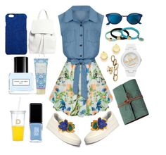 """""""Collecting my thoughts"""" by pulseofthematter ❤ liked on Polyvore featuring Allegra K, Lanvin, RetroSuperFuture, Mansur Gavriel, Marc Jacobs, Kate Spade, Vera Bradley, Dolce&Gabbana, JINsoon and Marc by Marc Jacobs"""