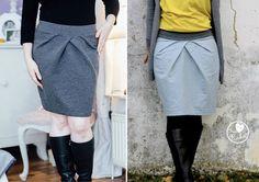 Evchen - jupe élégante - Patrons et tutoriels de couture chez Makerist
