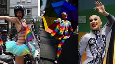 Check out the best pictures from New York City Pride 2017. Pride month, LGBT pride month