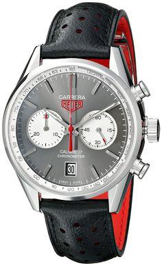 TAG Heuer Men's THCV5110FC6310 Carrera Analog Display Swiss Automatic Black Watch