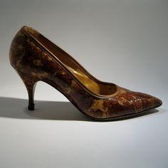 Vintage 1960s Mad Men Shoes #vintage #shoes #highheel #stiletto #madmen #1960s #fallfashions @Etsy