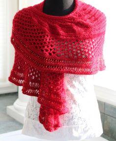 Red Shawl Pattern