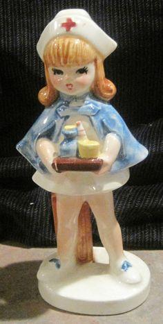 Vintage Lefton Nurse Figurine - Japan