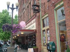 Fairhaven. A charming town in the heart of Bellingham. Colophon Cafe has for great meals and desserts     Photos by Bellingham Explorer - Your online magazine for Fun Things to do in Bellingham and Whatcom County