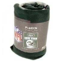 New York Jets Fleece Throw Blanket
