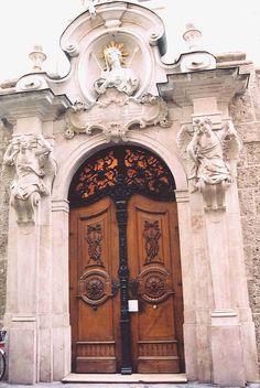 St Sebastian Church Entrance - Salzburg, Austria