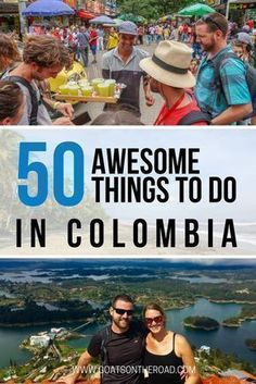 50 Awesome Things To Do in Colombia. Travel in South America. #southamericatravel #SouthAmericaTravelExploring