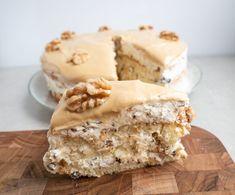 Danish Cake, Danish Food, Köstliche Desserts, Delicious Desserts, Sweet Cakes, Cake Cookies, Yummy Cakes, No Bake Cake, Amazing Cakes