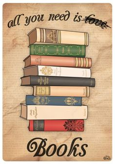 all you need are books
