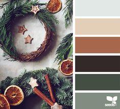 Christmas rustic color palette from design seeds Design Seeds, Scheme Color, Colour Pallette, Color Combinations, Paleta Pantone, Christmas Palette, Christmas Color Scheme, Color Balance, Winter Colors
