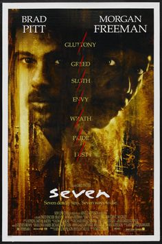 Seven (1995), by David Fincher  P.S? if you have never seen this film, don't eat before or during this movie. Trust me