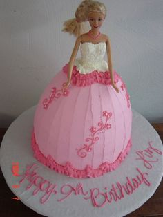 barbie cake... Used to have these all the time