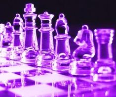 Purple Glass Chess Board and Pieces The Purple, Purple Rain, Neon Purple, Purple Walls, Purple Stuff, All Things Purple, Shades Of Purple, Purple Colors, Purple Glitter