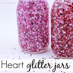 Everything you need to know to make your own floating hearts valentine sensory bottles! Three ways to make the heart glitter jars AND printable directions. Valentine Sensory, Valentines Day Activities, Valentine Day Crafts, Be My Valentine, Holiday Crafts, Valentine Ideas, Spring Crafts, Holiday Ideas, Valentine's Day Crafts For Kids
