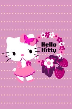 Hello Kitty Pics Cute Wallpaper for iPhone Goodbye Kitty, Hello Kitty Art, Hello Kitty Items, Sanrio Hello Kitty, Kitty Kitty, Pretty Phone Wallpaper, Sanrio Wallpaper, Cute Girl Wallpaper, Spring Wallpaper