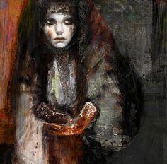 "Saatchi Online Artist Suhair Sibai; Painting, ""Unti Daybreak!"" #art"