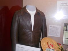 Fonzie's jacket from Happy Days at the Smithsonian Museum.