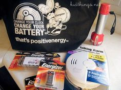 Change Your Clock Change Your Battery® Family Safety Kit Giveaway Enter to win