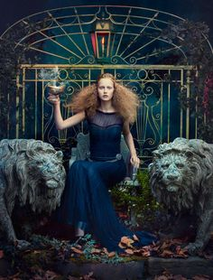 Bohemian Nymph Editorials - This Photo Series from Absynth Photography is Edgy and Ethereal (GALLERY) Foto Fashion, Fashion Art, Editorial Fashion, Baroque Fashion, Fashion Women, Fashion Beauty, High Fashion Photography, Editorial Photography, Gothic Photography