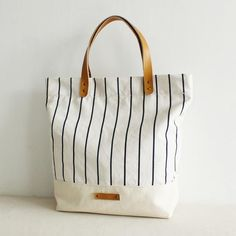 Canvas And Leather Tote Bag Per School Daily For Women 14005 Lisabag